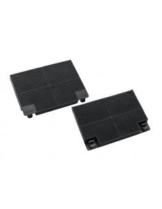 Active Carbon Filter Set 2 pcs 195x140x21mm EFF70 FABER, EUROFILTER