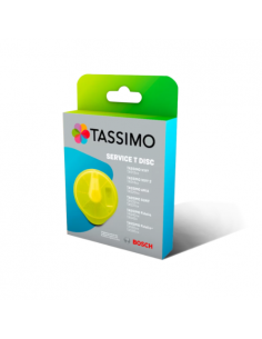 Cleaning Disc TASSIMO Service T-Disc, Yellow