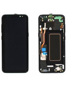 SAMSUNG GALAXY S8 G950F LCD Display Module, Black, GH97-20457A