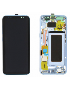 SAMSUNG GALAXY S8 G950F LCD Display Module, Blue, GH97-20457D