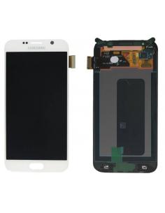 SAMSUNG GALAXY S6 G920F LCD Display Module, White, GH97-17260B