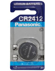 PANASONIC CR2412 Lithium Battery 3V 24.5mm, 100mAh, CR-2412/BN