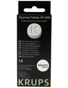 Cleaning Tablets KRUPS, XS300010