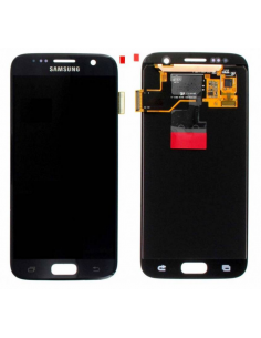 SAMSUNG GALAXY S7 G930F LCD Display Module, Black, GH97-18523A