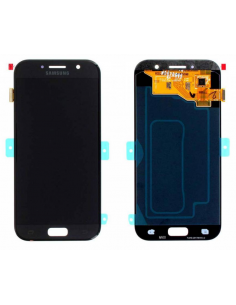 SAMSUNG GALAXY A5 A520F 2017 LCD Display Module, Black, GH97-19733A