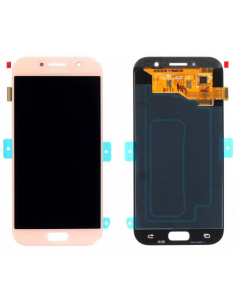 SAMSUNG GALAXY A5 A520F 2017 LCD Display Module, Pink, GH97-19733D