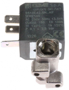 Solenoid Valve CEME 5510EA for coffee machines DELONGHI, 5213210171