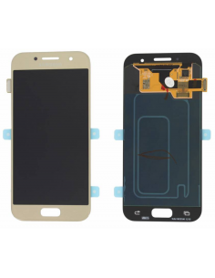 SAMSUNG GALAXY A3 A320F 2017 LCD Display Module, Gold, GH97-19732B