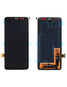 SAMSUNG GALAXY A8 A530F 2018 LCD Display Module, Black, GH97-21406A