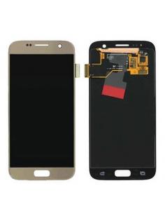 SAMSUNG GALAXY S7 G930F LCD Display Module, Gold, GH97-18523C