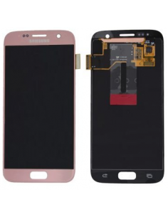SAMSUNG GALAXY S7 G930F LCD Display Module, Pink Gold, GH97-18523E